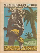 MAGAZINE OOR 1976 nr. 13 - BOB MARLEY/ROGER CHAPMAN/IAN GILLAN/SOFT MACHINE