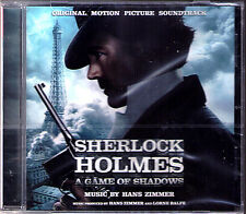 SHERLOCK HOLMES 2 A GAME OF SHADOWS Hans Zimmer CD Guy Ritchie Spiel im Schatten