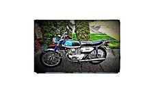 1969 cb175 Bike Motorcycle A4 Retro Metal Sign Aluminium