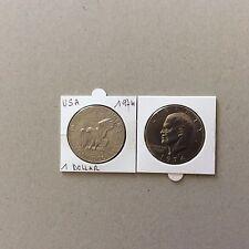 Pièce USA One dollar 1974