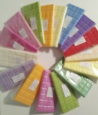 Highly Scented Soy Wax Melts. Block, Candle Tart, Bar 60 - 120 Fragrances