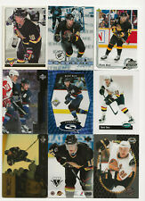 Pavel Bure lot of 9 Hockey cards with several inserts