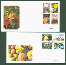 Curacao 2012 - Pflanzen Blumen Blüten Früchte Kakteen Kaktus Opuntien 111-18 FDC