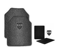 Body Armor   AR500 Steel Plates   Base Frag Coating   Level III   10x12-6x6 (4)