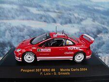 1/43 IXO Peugeot 307 WRC  #6 Monte Carlo 2006