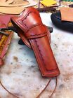 CUSTOM WESTERN  HOLSTER FOR REMINGTON 1858 HAND TOOLED COWBOY ACTION