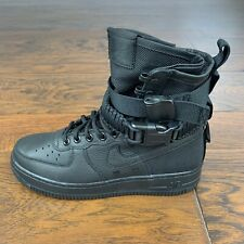 NIKE SF Air Force 1 High Shoes Boots Triple Black 857872-002 Women's Size 7.5