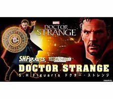 BANDAI S.H.FIGUARTS SHF MARVEL DOCTOR DR. STRANGE & BURNING FLAME SET FIGURE