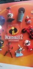McDonald's 2018 INCREDIBLES complete Display all 10 toys on cardboard new