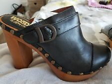 jeffrey campbell woodies cloggs shoes sandals Designer