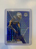 2020 Panini Mosaic DERWIN JAMES JR Blue Prizm Card No 115 #45/99 CHARGERS