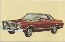 1975 Ford Granada Ghia 2-Door Automobile Advertising Postcard