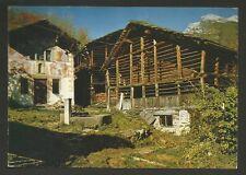 AD6101 Vercelli - Provincia - Valsesia Alagna - Frazione Goreto - Case Walser