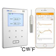 Elitech Rcw 800 Wifi Temperature Humidity Data Logger Intelligent Temp Monitor