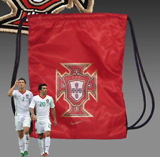 Neuf Nike Portugal Football Cordon Sac à Dos Rouge
