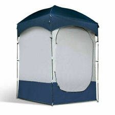 Weisshorn 220x116x116cm Single Shower Camping Tent - Blue/Grey