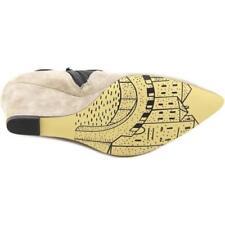 Zapatos de tacón de mujer de color principal negro de ante Talla 39