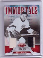 11-12 Certified IMMORTALS MIRROR Johnny Bucyk DETROIT RED WINGS DUAL JERSEY /25