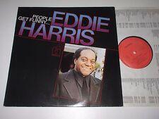 LP/EDDIE HARRIS/PEOPLE GET FUNNY/Timeless SJP 228 +ois
