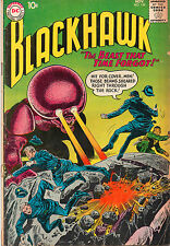 Blackhawk #154 - Monster Cover! - (Grade 3.5) 1960