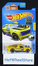 2016 Hot Wheels  Yellow Fig Rig   From Factory Sealed Set Card #136  HW-38121417