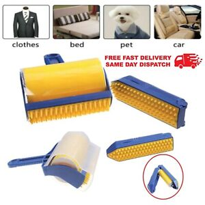 2PCS STICKY LINT ROLLER SET DUST PET HAIR REMOVER WASHABLE CLEANING REUSEABLE
