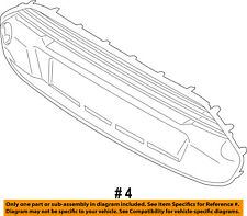 FORD OEM 14-18 Transit Connect-Grille DT1Z17E810B