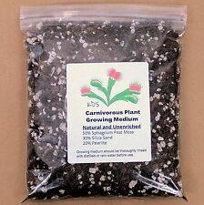 1 Qt Venus Flytrap, Pitcher Plant, and Carnivorous Plant Growing Media/Soil Mix