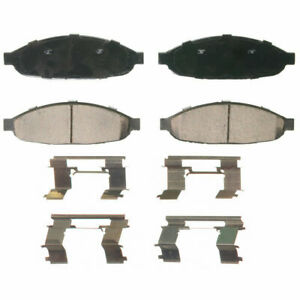 Disc Brake Pad-QuickStop Front WAGNER ZD997 fits 04-08 Chrysler Pacifica