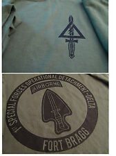 Delta Force Airborne (1st SFOD-D) The Unit  Silk-Screened T-Shirt LARGE Ultra Co