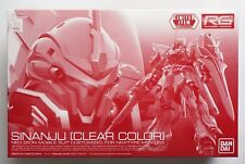 BANDAI RG 1/144 Sinanju MSN-06S clear color limited scale model kit