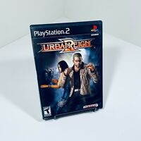 Urban Reign (Sony PS2 PlayStation 2, 2005) Black Label - CIB Complete