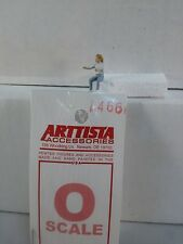 Arttista Girl to sit at Picnic Table #1466 - O Scale On30 On3 Figures People New