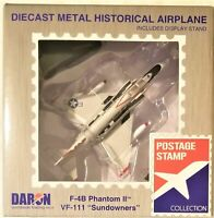 "Postage Stamp - 1/155 Scale F-4B Phantom II VF-111 ""Sundowners"" (BBPS5384-3)"