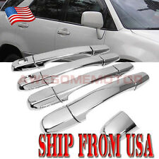 US Chrome Side Door Handle Cover For 98-03 Toyota Harrier Lexus IS200 RX300 AM