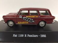 1:43 STARLINE MODELS STSS007 FIAT 1100 R FAMIGLIARE MARMITTE ABARTH 1967