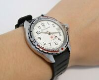 Soviet Watch Vostok Komandirskie Zakaz MO Wostok Vintage Wristwatch USSR, Retro