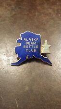 VINTAGE ALASKA BEAM BOTTLE CLUB ENAMEL PIN FREE SHIPPING