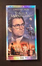 Harper Lee To Kill a Mockingbird (VHS 1962) Gregory Peck, Robert Duvall, Atticus