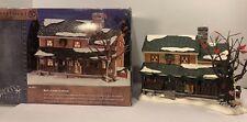 Dept 56 Snow Village #55051 Buck's County Farmhouse Christmas Display w/Box