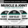 Hemp Oil Pain Relief Cream Balm | Arthritis Stiffness Gout Muscle Joint Massage