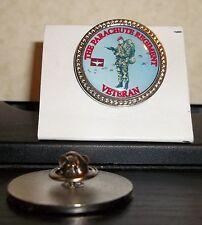 HM Armed Forces Parachute Regiment {SA80} Veteran Lapel pin badge.