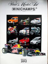MINICHAMPS Katalog 2012 Edition 1 Ungelesen und Neuwertig 226 Seiten !