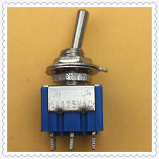 2pcs Mini 6-Pin SPDT G105 ON-ON 6A 125V 3A250VAC Toggle Switches SELL AT A LOSS