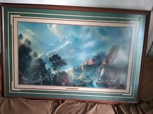 Dale Terbush Limited Edition Huge Signed/Numbered Lithograph