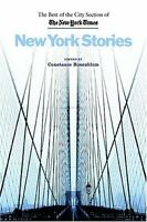 New York Stories: The Best of the City Section of