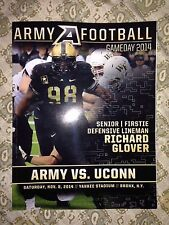 2014 Army Vs. UConn 11/8/14 Yankee Stadium Gameday Program