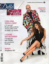 Detto Fatto 2018 9 ottobre.Bianca Guaccero & Giovanni Ciacci