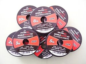 Fulling Mill Fluorocarbon NEW Updated V2 World Class 50 meters