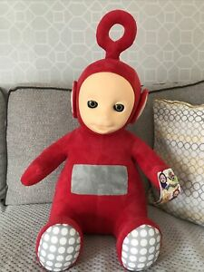 """Large Telly Tubbies PO  25"""" Tall Soft Plush Toy"""